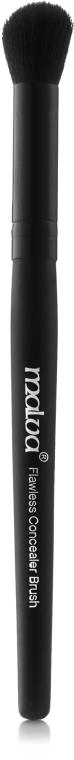 Кисть для консилеров, бронзеров №25 - Malva Cosmetics Flawless Concealer Brush