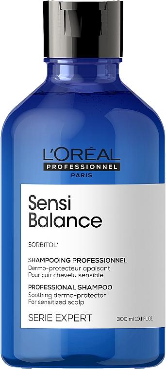 Очищающий шампунь для чувствительной кожи головы - L'Oreal Professionnel Serie Expert Sensi Balance Shampoo