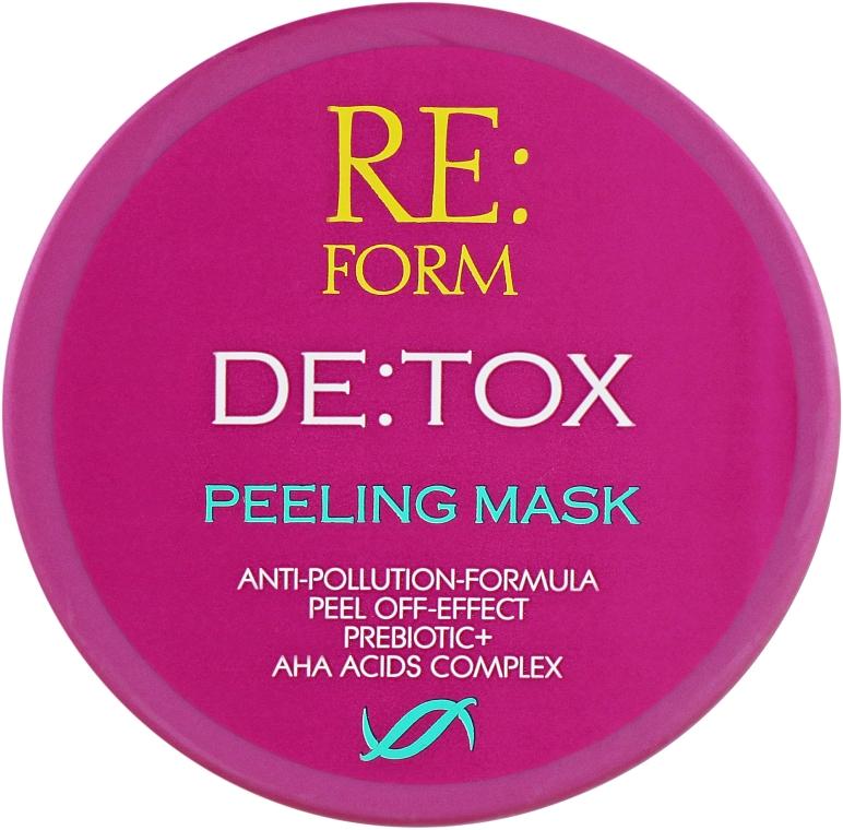 Очищающая маска-пилинг для волос - Re:form De:tox Peeling Mask