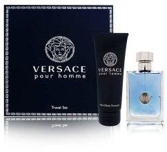 Духи, Парфюмерия, косметика Versace Pour Homme - Набор (edt/100ml + sh/gel/100ml)