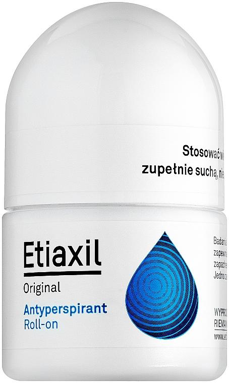 Антиперспирант длительного действия для чувствительной кожи - Etiaxil Original Antiperspirant Roll-on