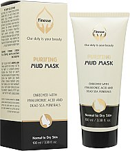 Духи, Парфюмерия, косметика Очищающая грязевая маска с гиалуроновой кислотой - Finesse Purifying Mud Mask