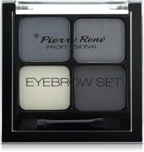 Духи, Парфюмерия, косметика Моделирующие тени для бровей - Pierre Rene Eyebrow Set