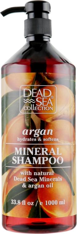 Шампунь с минералами Мертвого моря и аргановым маслом - Dead Sea Collection Argan Mineral Shampoo
