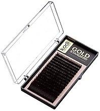 Духи, Парфюмерия, косметика Накладные ресницы Gold Standart D 0.03 (16 рядов: 9/14) - Kodi Professional