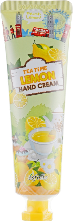 Крем для рук чай с лимоном - Esfolio Tea Time Lemon Hand Cream
