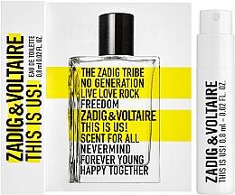 Духи, Парфюмерия, косметика Zadig & Voltaire This is Us! - Туалетная вода (пробник)