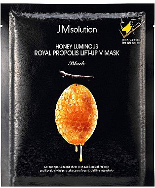 Маска для подбородка - JMsolution Honey Luminous Royal Propolis Lift-Up V Mask