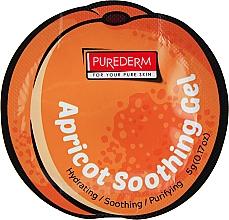 Духи, Парфюмерия, косметика Гелевая маска для лица с абрикосом - Purederm Apricot Soothing Gel