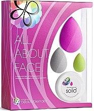 Духи, Парфюмерия, косметика Набор - Beautyblender All.About.Face (sponge/3pc + soap/1pc)