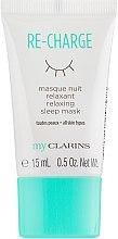 "Духи, Парфюмерия, косметика Ночная маска для лица ""Релакс"" - Clarins My Clarins Re-Charge Relaxing Sleep Mask (мини)"