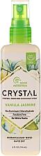 Духи, Парфюмерия, косметика Дезодорант-спрей для тела с ароматом ванили и жасмина - Crystal Mineral Deodorant Spray Vanilla Jasmine