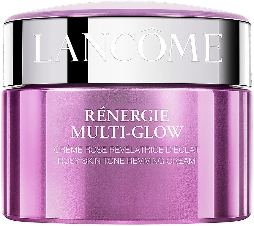 Антивозрастной крем для зрелой кожи с эффектом лифтинга, сияния и ровного тона - Lancome Renergie Multi-Glow Rosy Skin Tone Reviving Day Cream