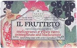 "Духи, Парфюмерия, косметика Мыло ""Гранат и черная смородина"" - Nesti Dante Il Frutteto Soap"