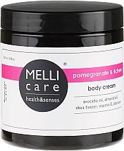 Духи, Парфюмерия, косметика Крем для тела - Melli Care Pomegranate & Lichee Body Cream