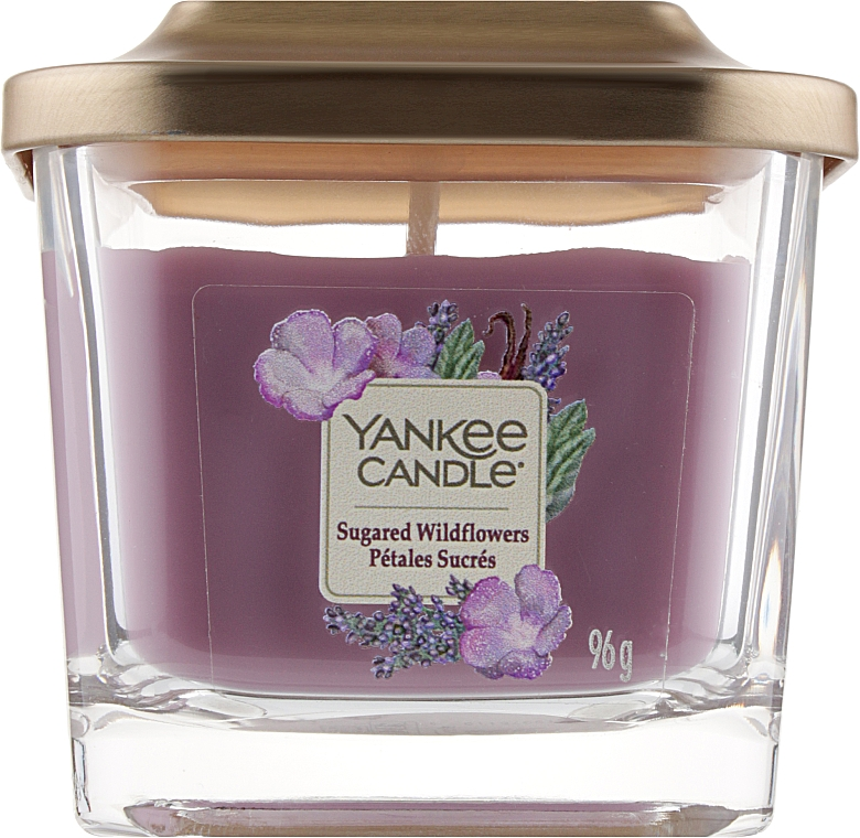 Ароматическая свеча - Yankee Candle Elevation Sugared Wildflowers