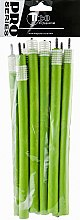 Духи, Парфюмерия, косметика Бигуди гибкие, 240мм, d14, зеленые - Tico Professional