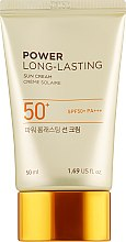 Солнцезащитный крем - The Face Shop Power Long-Lasting Sun Cream SPF50+ PA+++ — фото N2
