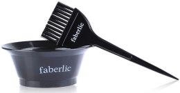 Духи, Парфюмерия, косметика Набор для окрашивания волос (емкость+кисточка) - Faberlic
