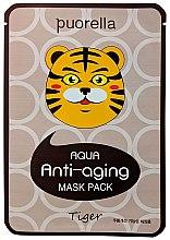 Духи, Парфюмерия, косметика Антивозрастная маска для лица «Тигр» - Puorella Anti-Aging Mask Pack
