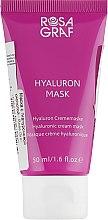 Духи, Парфюмерия, косметика Маска с гиалуроновой кислотой - Rosa Graf Hyaluron Mask