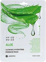 Духи, Парфюмерия, косметика Тканевая увлажняющая маска c экстрактом алоэ - Jkosmec Aloe Ultimate Hydrating Essence Mask