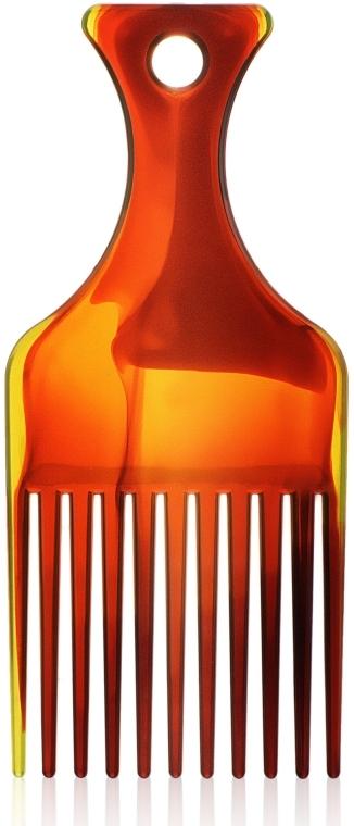 """Гребень для волос """"Afro"""" S, 60274, янтарный - Top Choice"""