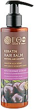 Духи, Парфюмерия, косметика Кератиновый бальзам для восстановления и роста волос - ECO Laboratorie Keratin Hair Balm Amazon Acai Berry
