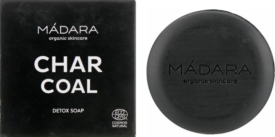 Очищающее мыло для лица с углем - Madara Cosmetics Charcoal Detox Soap