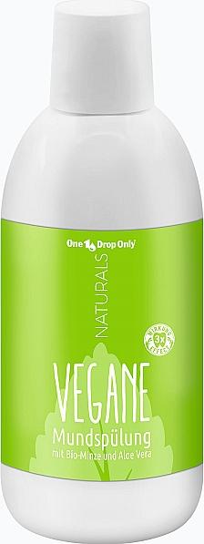 Натуральный ополаскиватель для полости рта с органической мятой и алоэ вера - One Drop Only Naturals