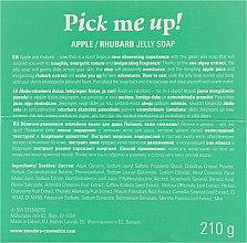 "Желейное мыло для душа яблочно-ревеневое ""Поймай, если сможешь"" - Stenders Apple/Ruhbarb Jelly Soap Pick Me Up — фото N3"