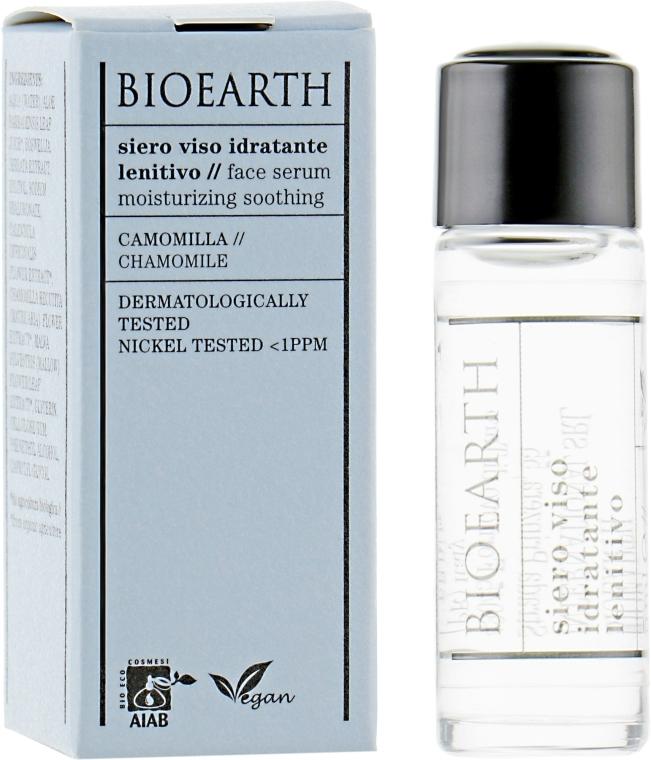 Увлажняющая сыворотка лица, успокаивающая - Bioearth Soothing Moisture Serum (мини)