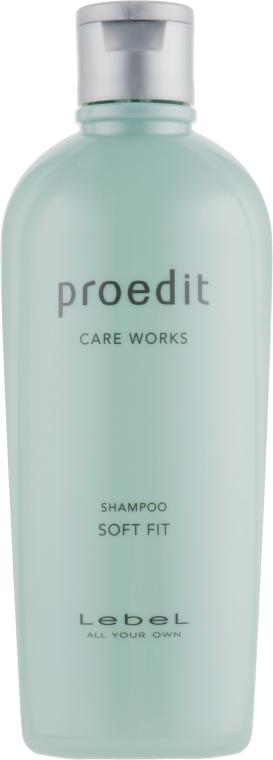Шампунь для сухих жестких волос - Lebel Proedit Soft Fit Shampoo