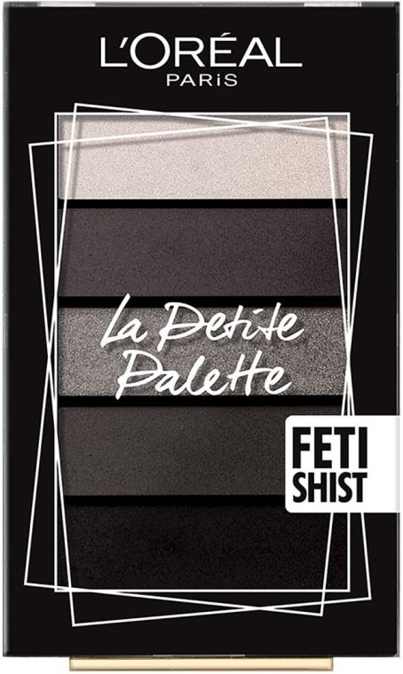 Палетка теней для век - L'Oreal Paris La Petite Palette Fetishist Eyeshadow
