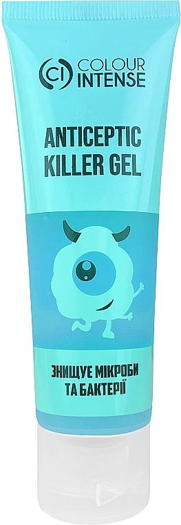 "Антисептический гель для рук ""Прохлада"" (60% спирта) - Colour Intense Anticeptic Killer Gel Fresh"