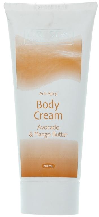 """Крем для тела против старения с маслами """"Авокадо и Манго"""" - Dr. Sea Body Cream"""