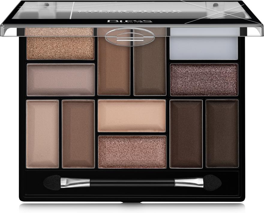Палетка теней для век - Bless Beauty Color Block Eye Shadow Palette