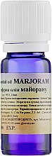 Духи, Парфюмерия, косметика Эфирное масло Майорана - Argital Pure Essential Oil Majoran