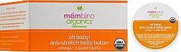 Духи, Парфюмерия, косметика Масло против растяжек - Mambino Organics Body Care Oh Baby! Belly Butter