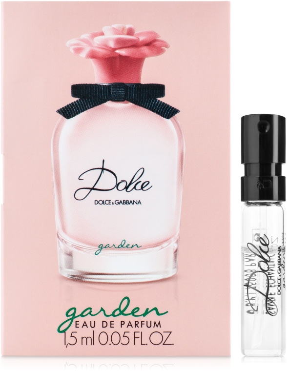Dolce&Gabbana Dolce Garden - Парфюмированная вода (пробник)