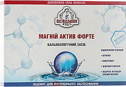 """Парфумерія, косметика Бішофіт для внутрішнього застосування """"Магній актив форте"""" - Dr.Bishoffit"""