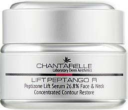 Духи, Парфюмерия, косметика Пептидная лифтингующая сыворотка для всех типов кожи - Chantarelle Liftango R Peptizone 26.8 % Lift Serum Face & Neck