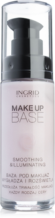 Осветляющая база под макияж - Ingrid Cosmetics Make Up Base
