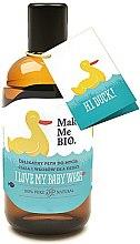 Духи, Парфюмерия, косметика Деликатный моющий гель для волос и тела для детей - Make Me BIO I love My Baby
