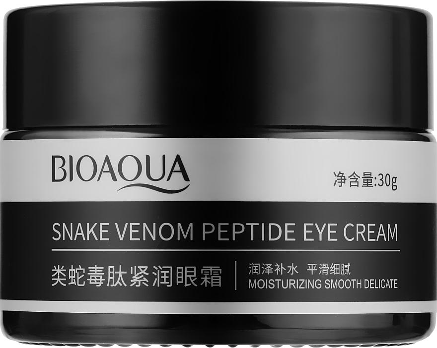Крем для кожи вокруг глаз с пептидом змеиного яда - Bioaqua Snake Venom Peptide Eye Cream