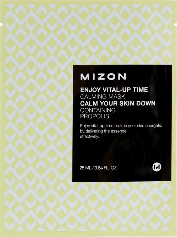 Тканевая маска для лица успокаивающая - Mizon Enjoy Vital-Up Time Calming Mask