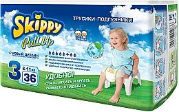 "Духи, Парфюмерия, косметика Трусики-подгузники ""Pull Up 3"" (6-11 кг, 36 шт) - Skippy"