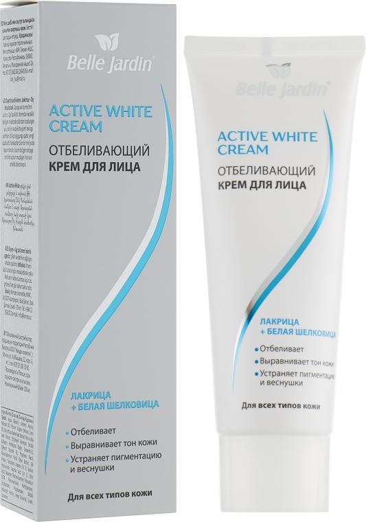 "Отбеливающий крем для лица ""Лакрица + Белая шелковица"" - Belle Jardin Active White"