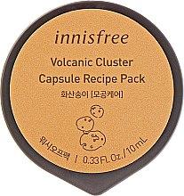Духи, Парфюмерия, косметика Маска с вулканической глиной в капсуле - Innisfree Volcanic Cluster Capsule Recipe Pack