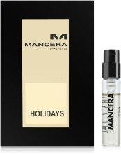 Mancera Holidays - Парфумована вода (пробник) — фото N1
